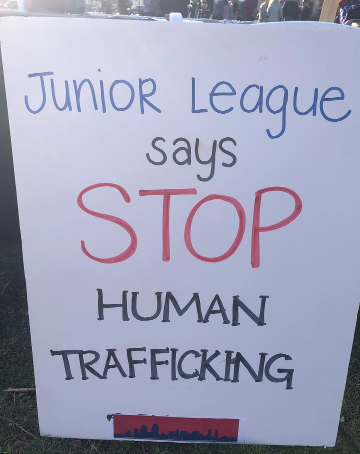 Human Trafficking Awareness Rally 2020